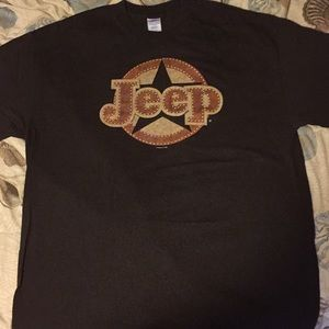 Jeep logo T-shirt 2008 size XL